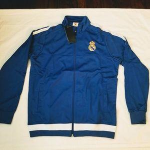 Real Madrid track jacket adult sizes
